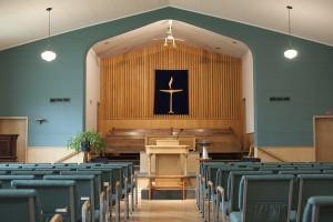 Front of Coburn Hall – Sanctuary