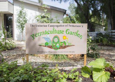 Saskatoon Unitarians Permaculture Garden