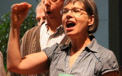 Singing on Sunday mornings